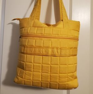 Lug Quilted Tote